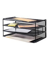 four shelf desk organizer