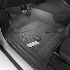 2018 canyon all weather floor liners front jet black