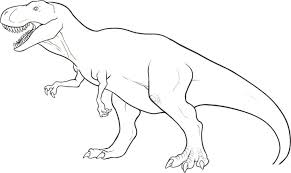 Small Picture Wonderful Simple Dinosaur Coloring Pages Dinosaur Coloring Pages