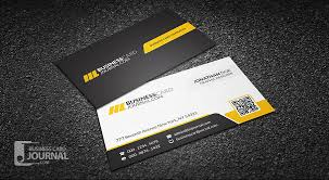 Professional Business Card Templates Free Corporate Professional Qr Code Business Card Template
