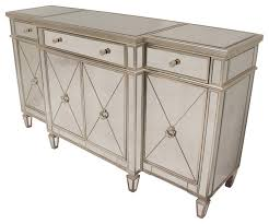 borghese mirrored sideboard contemporary buffets and sideboards borghese mirrored furniture