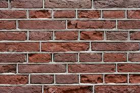 Detail Van Een Rood Bakstenen Huis Of Stenen Muur Met Grijze Cement