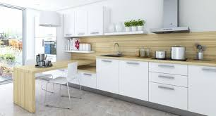 Modern Kitchen Shelving Decorations Cozy Modern Kitchen With L Shaped Cabinets In White