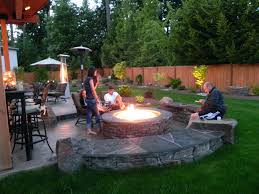 paver patio with gas fire pit. Full Size Of Patio Designs With Gas Fire Pit Ideas Around Concrete Paver T