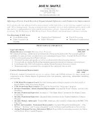 General Resume Objective Amazing Example Of A Good Objective For A Resume Objective On A Resume