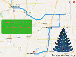 Christmas Light Show Bloomington Il Seven Great Places To See Holiday Lights In Central Illinois