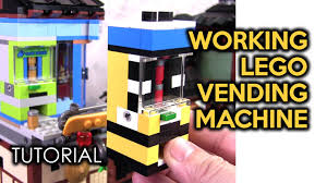 How To Build A Lego Vending Machine Unique How To Build The LEGO Ninjago City Docks Vending Machine Standalone