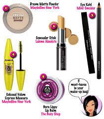 5 must haves for your make up bag