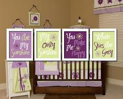 green and purple baby bedding purple and green baby girl bedding