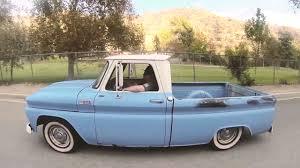 1965 Chevy C10 Fleetside Short Bed Truck - Blue Shark - YouTube