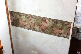 swingeing how to remove wallpaper borders how to remove the outdated wallpaper border in your camper tips to easily remove wallpaper border with steamer