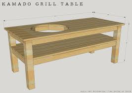 i wanted to make this diy do grill table design as simple as possible there are a lot of diy grill tables floating around the interwebs that have all