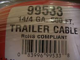trailer light cable wiring harness 14 4 14 gauge 4 wire jacketed trailer light cable wiring harness 14 4 14 gauge 4 wire jacketed black flexible 4