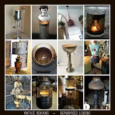 repurposed lighting. repurposed lighting ideas vintage remains assemblageslighting