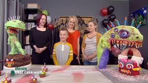 Best Cake Wins Mini Tobans Monster Cake Youtube