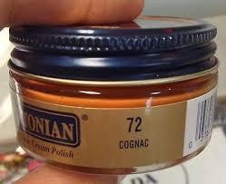 1 Jar Cognac Color 72 Boot Shoe Cream Polish Conditioner
