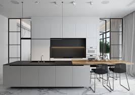 white and black kitchen. Contemporary Black 4  And White Black Kitchen N