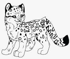 Snow Leopard Coloring Pages Luxury Snow Leopard Coloring Page Pages