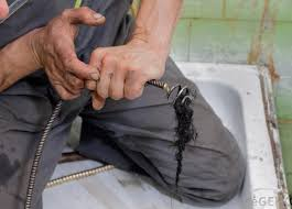drain snakes can be used to remove hair that s clogging up a drain