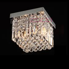 perfect ceiling crystal chandelier and contemporary crystal flush mount crystal ceiling lighting elegant