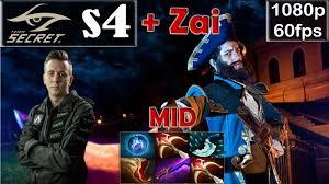 s4 secret kunkka mid pro gameplay with zai mirana mmr