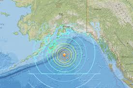 the epicenter of a magnitude 7 9 earthquake off the coast of alaska on january 23 2018 us geological survey