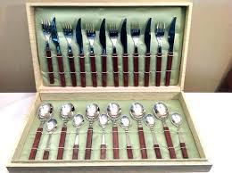 wooden handle flatware set wooden handle forks vintage wooden handle silverware designs wooden handle cutlery wooden