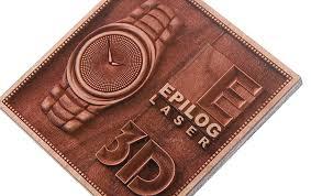 3d laser engraved plaque