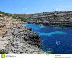 Fantastisch Lampedusa Eiland In Italië Stock Afbeelding Afbeelding