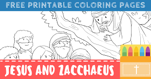 The vast and beautiful ocean has come to zacchaeus. Free Printable Zacchaeus Coloring Pages For Kids Connectus