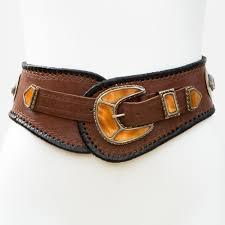 lb 383tt belt handmade leather women 8217 s belt wester tribal southwest hip belt wide belt cowbone three piece buckle set