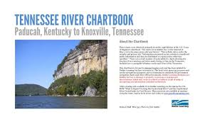 Tennessee River Navigation Charts Waterway Navigation Chartbook Tennessee River