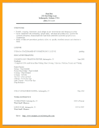 Cosmetology Resume Examples Simple Cosmetology Resume Examples Cosmetologist Samples 40 Sample