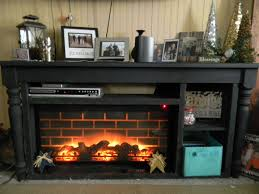 picture of building a faux fireplace