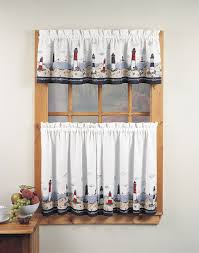 Strawberry Kitchen Curtains Lovely Kitchen Window Curtain Strawberry Embroidery Valance