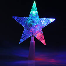 Paradise 2 In 1 Rotating Party Light Us 2 51 11 Off 1 Pcs Hogar Paradise Color Changing Xmas Christmas Tree Topper Star Shiny Rotating Light Party Led Lamp Decoration In Tree Toppers