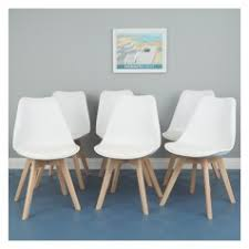 dining chairs and benches. jerry set of 6 white dining chairs and benches