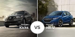 Nissan Kicks Vs Honda Hr V Little Guys Throwdown Big Time