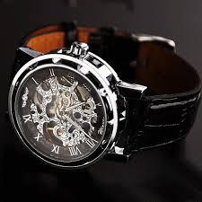 men s watch vintage style watch handmade watch leather band men s watch vintage style watch handmade watch leather band watch chain hollow