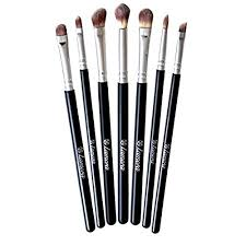 makeup eye brush set eyeshadow eyeliner blending crease kit best choice 7 essential makeup brushes pencil shader tapered definer last longer
