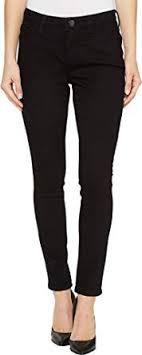 Jag Jeans Womens Sheridan Skinny Platinum Denim In Black