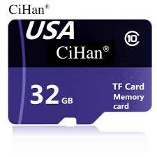 Satın Al Cihan 100% Gerçek Kapasite 32BG Mikro SD Kart Hafıza Kartı TF U1  Class10 Yüksek Hızlı Kalite Garantisi Perakende Drop Shipping Toptan,  TL33.11