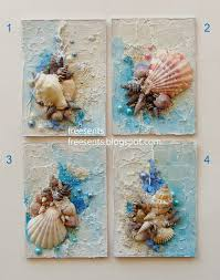 Best 25 Seashell Decorations Ideas On Pinterest Crafts With Sea Shell Art