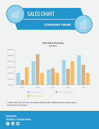 Sales Chart Template Sales Chart Infographic Template Visme