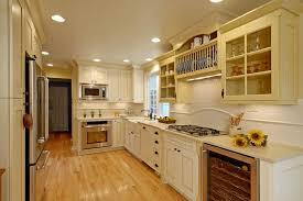 image of cream cabinets white trim