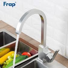 Harga Frap Kitchen Faucet Space Aluminum Kitchen Mixer Faucet Sink