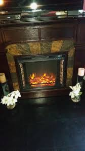 fireplace fresh even glow electric home design ideas
