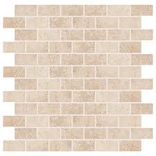 briton bone 12 in x 12 in x 8 mm ceramic mosaic tile