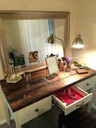 wooden makeup vanity rustic makeup vanity table wooden bedroom rectangle white wooden makeup vanity with 10