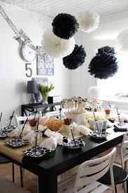 Black and white birthday party - Esmeralda's